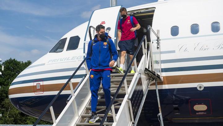El Barça ya está en Colonia en busca de la 'Décima' Champions