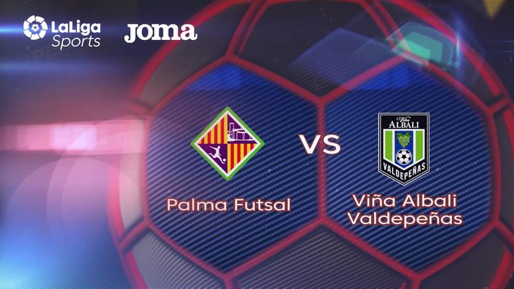 LNFS. Jornada 3: Palma Futsal - Viña Albali Valdepeñas  (2-1), Temp 2019-2020