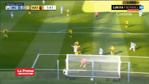 Manchester City 8-0 Watford (Premier League)