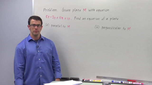 The Angle Between Planes - Problem 3