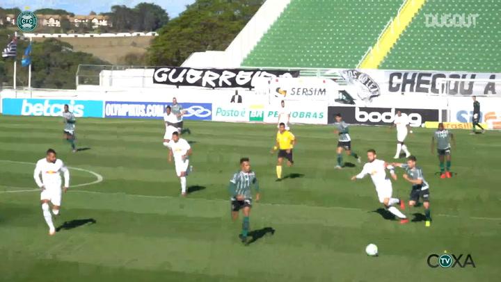 Coritiba's first win in the 2020 Brazilian Championship
