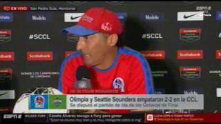 Troglio: ''Sueño con salir campeón de Champions, vamos a pelear en Seattle''