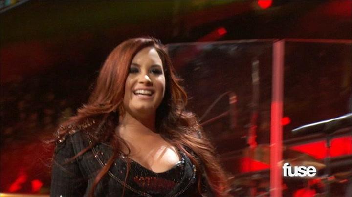 "Jingle Ball: Demi Lovato Performs ""Give Your Heart a Break"" - Fuse Presents Z100's Jingle Ball 2011"