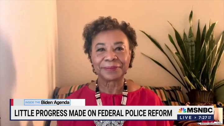 Barbara Lee: We Need H.R. 1 and H.R. 4 So People Aren't 'Totally Oppressed' and 'Not Part of This Country's Democracy'