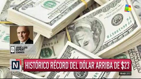 Espert cargó duramente contra Marcos Peña por el récord del dólar