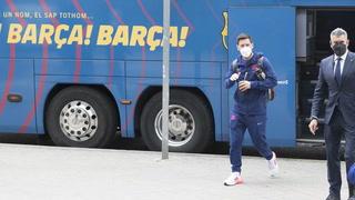 Así fue la llegada de Barcelona a Madrid para enfrentar el Clásico español