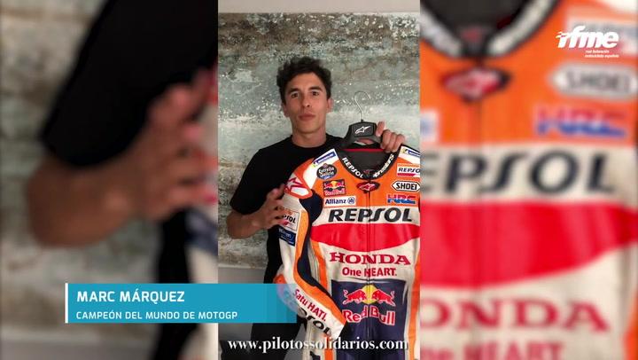 Arranca la subasta solidaria de los pilotos campeones de motos