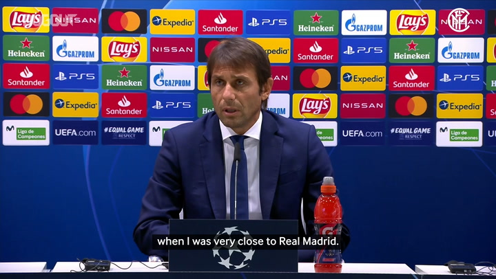 Antonio Conte looks ahead to Real Madrid clash