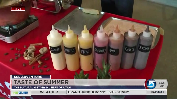 Taste of Summer at the Natural History Museum of Utah