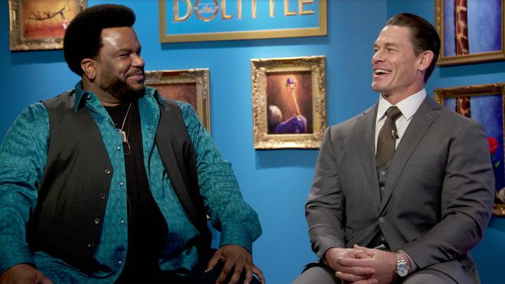 'Dolittle' Unscripted with Craig Robinson & John Cena