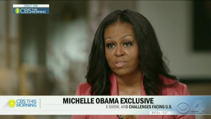 Michelle Obama: Black Lives Matter 'Taking to the Streets Because They Have To'
