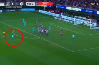 VIDEO: El impresionante golazo de Adrián Aldrete en el Chivas-Cruz Azul de la Liga MX