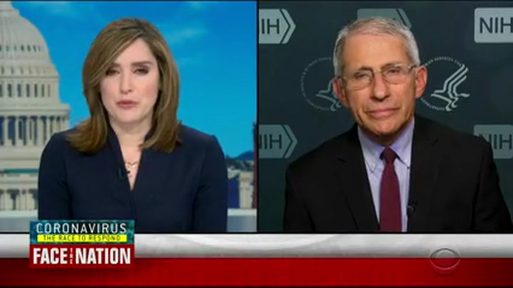 Fauci: It Would Be 'False Statement' to Say We Have Coronavirus Under Control