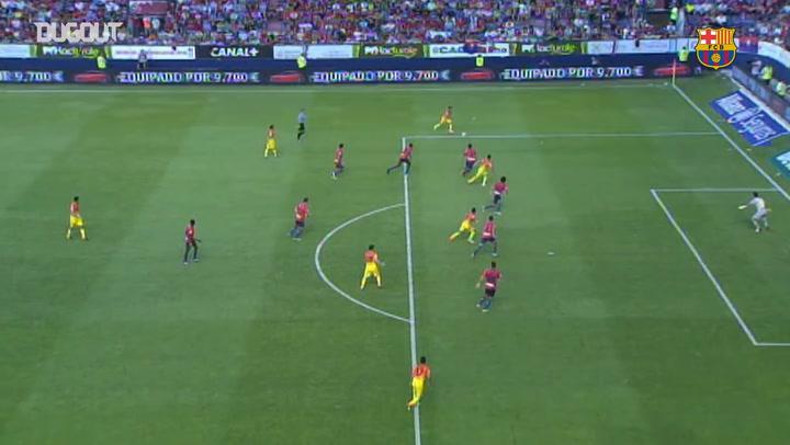 Barcelona's top 3 goals at Osasuna