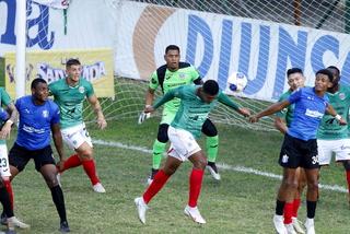 Marathón sigue penando en el Clausura y empata ante un Honduras Progreso con uno menos casi todo el juego