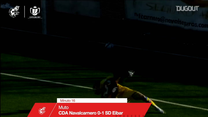 Third-tier side Navalcarnero knock out Eibar