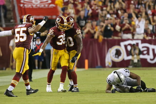 Vegas Nation: Raiders Suffer First Loss in D.C.