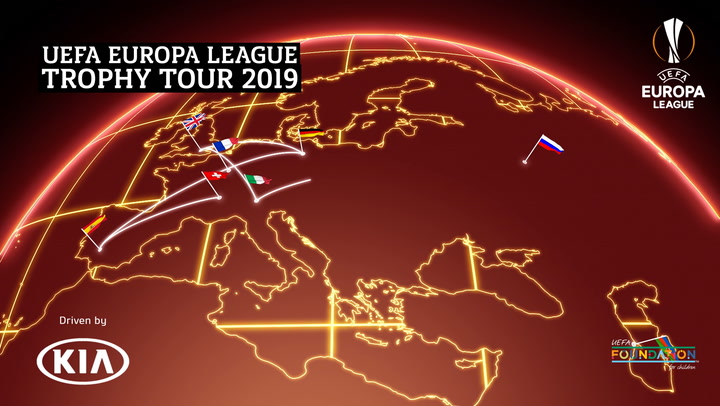 UEFA Europa League Trophy Tour 2019 | Highlights | Kia