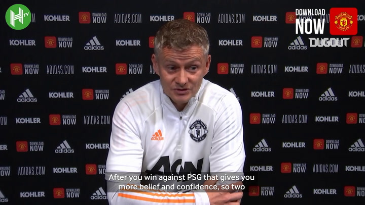 Solskjær previews 'tough clash' with Chelsea