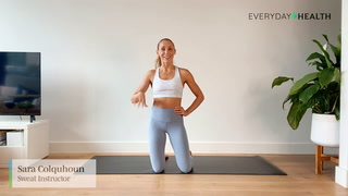 5-Minute Low Impact Lower Body Pilates Workout