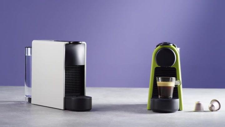 Preview image of Nespresso Essenza 1450W Mini Automatic Espresso Ma video