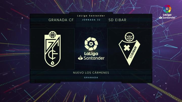 LaLiga Santander (Jornada 32): Granada 1-2 Eibar