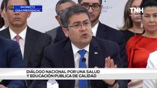 Hernández instala mesa de diálogo con varios sectores