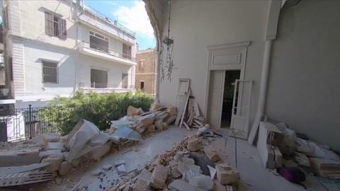 La destrucción en Beirut, una semana después de la tragedia