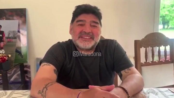 """Maradona responde a su hija: """"No me estoy muriendo"""""""