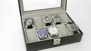 1402RL-14B DEBONAIR 10 SLOT WATCHBOX