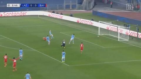 Lazio 1-4 Bayern Múnich (Champions League)