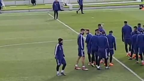 Messi no será arriesgado y quedó descartado para hoy ante España