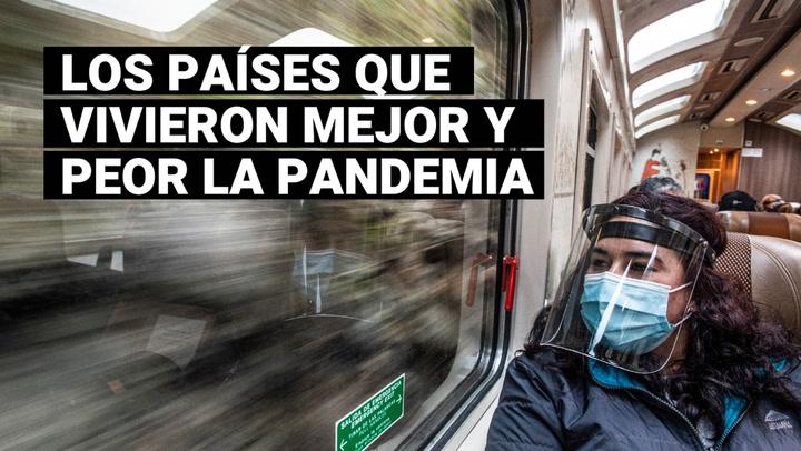 Coronavirus: descubre los mejores y peores países para pasar la pandemia