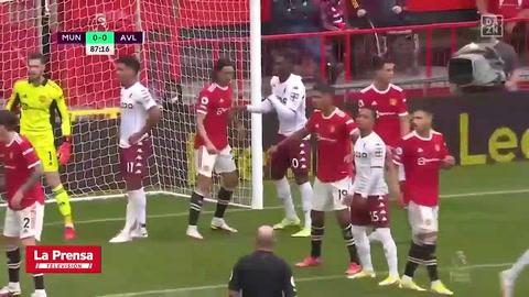 Manchester United 0 - 1 Aston Villa (Premier League)