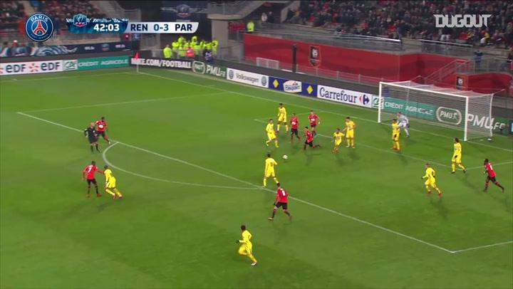 Team Goals: Neymar Jr Vs Rennes