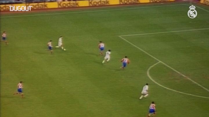 Raúl González's best goals against Atlético