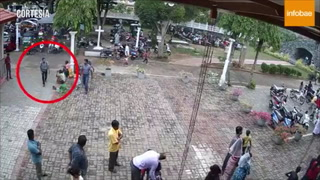 Terrorista es grabado minutos antes de atentado en iglesia de Sri Lanka