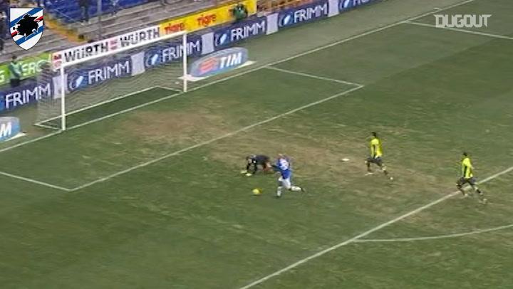 Massimo Maccarone fires home in win over Bologna