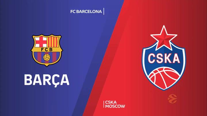 Euroliga: FC Barcelona - CSKA Moscú