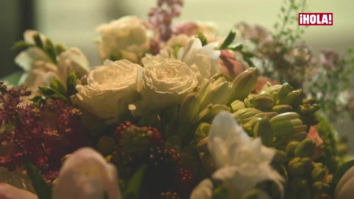 Desvelado el misterio del ramo de novia de Rocío -qr