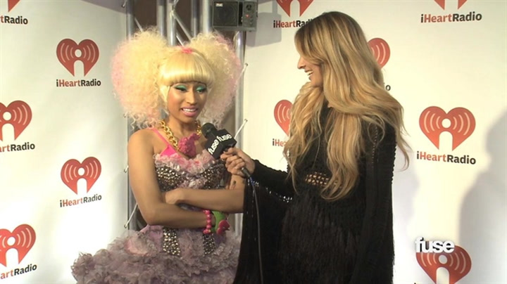 Interviews: Nicki Minaj's Massive Accent - iHeart Radio Music Festival