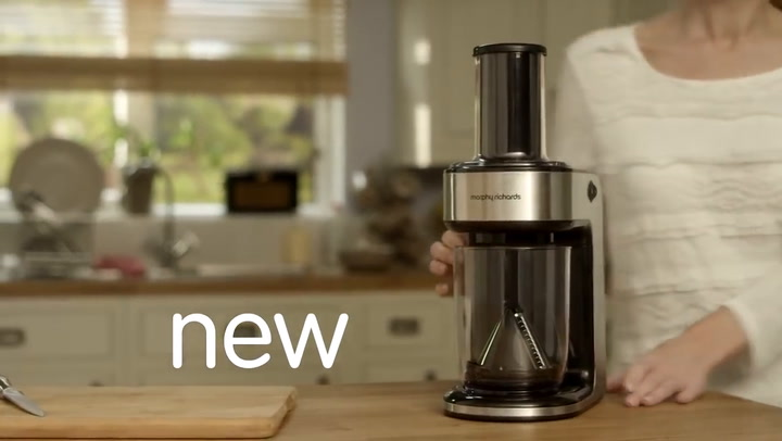 Preview image of Morphy Richards Spiralizer Express Teaser video