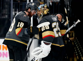 Golden Knights On Game Four Win Against Winnipeg