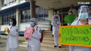 Estudiantes de medicina solicitan reintegro a los centros hospitalarios