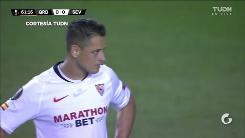 Chicharito se luce con golazo en la Europa League