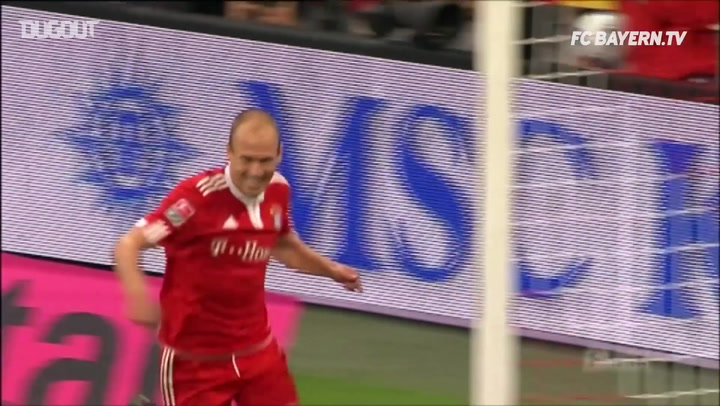 Debut Goals: Arjen Robben Vs Wolfsburg