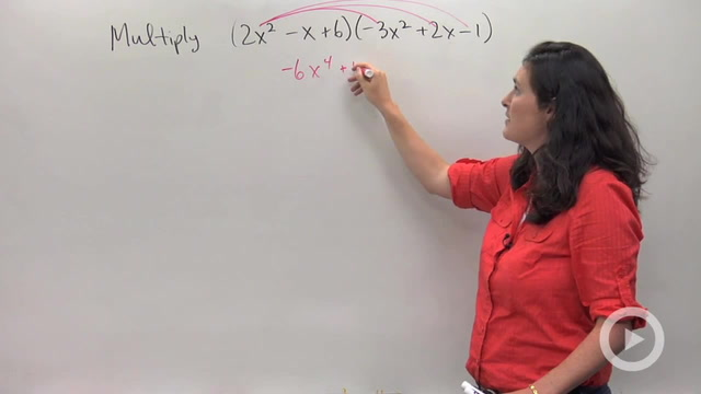 Multiplying Larger Degree Polynomials using Distributing - Problem 3