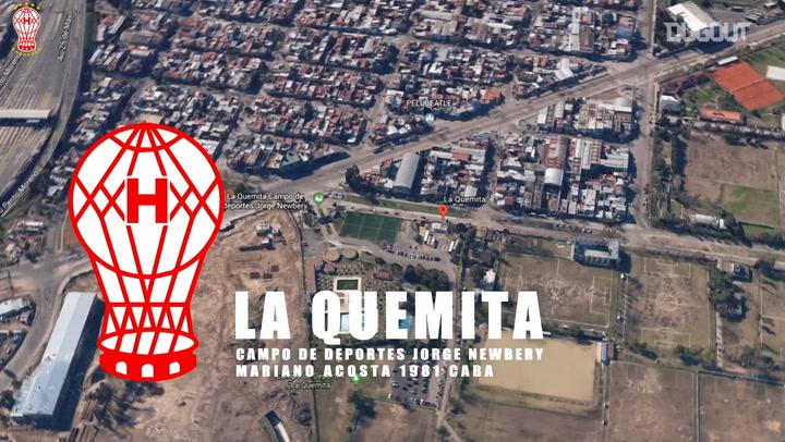 CA Huracán's traning centre revolution