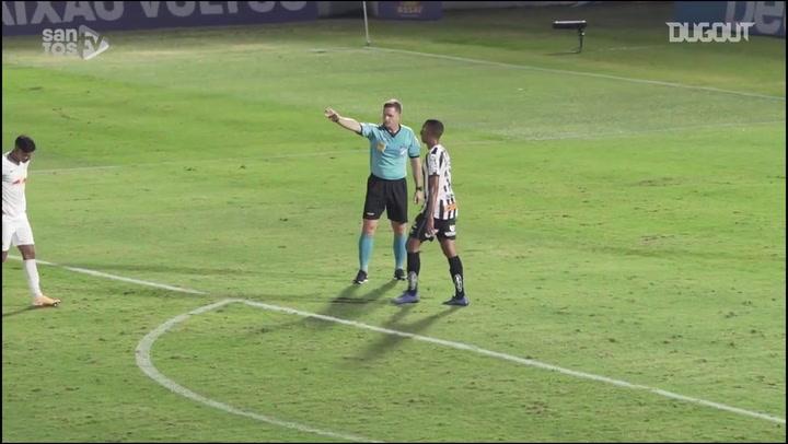 Santos draw against Bragantino at Nabi Abi Chedid