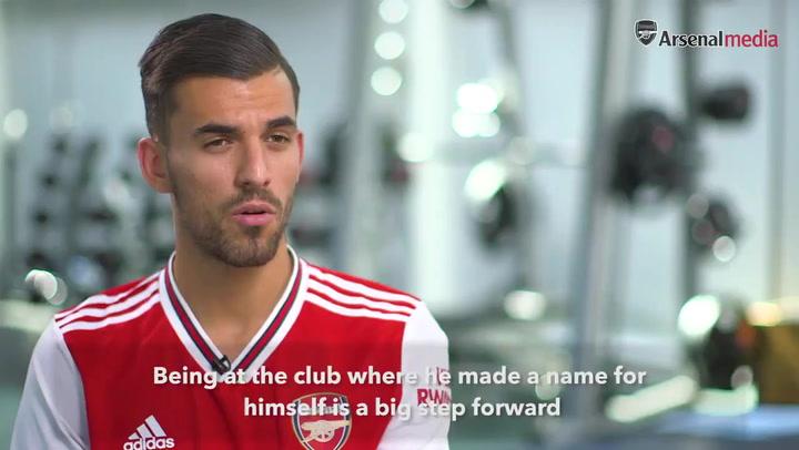 Primeras palabras de Ceballos como nuevo jugador del Arsenal